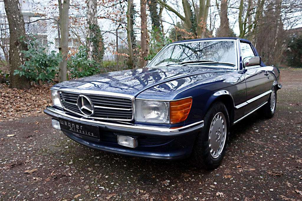 Wagner Classics Youngtimer Oldtimer Automobile - Mercedes Benz 300SL Typ 107