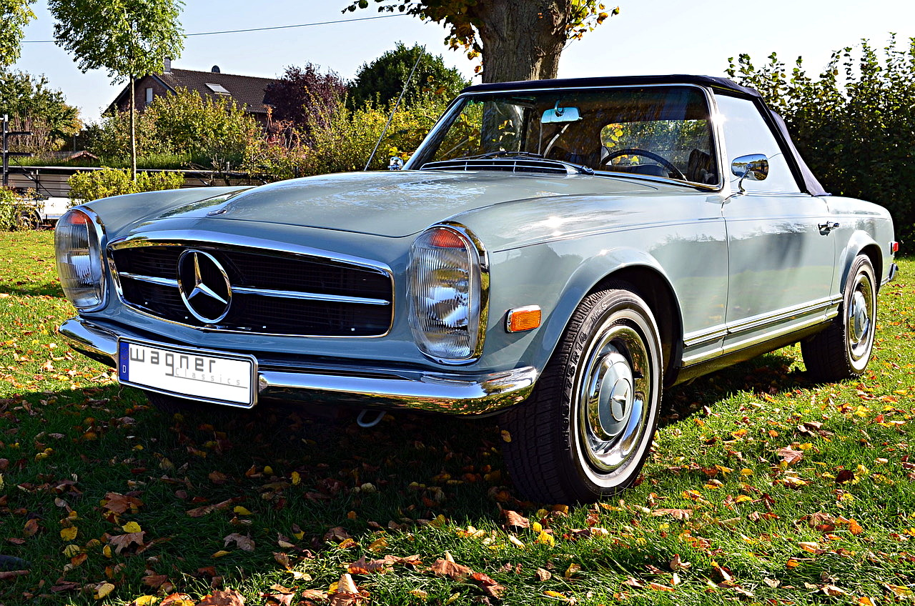 Wagner Classics Youngtimer Oldtimer Automobile - Mercedes Benz 230SL Pagode